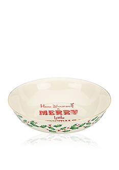 Lenox® Home for the Holidays Have Yourself A Merry Little Christmas Bowl