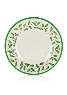 Holiday Melamine Salad Plate, Set of 4