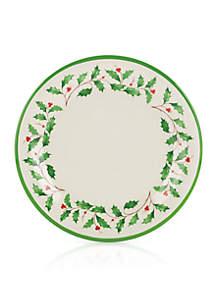 Holiday Melamine Plates, Set of 4