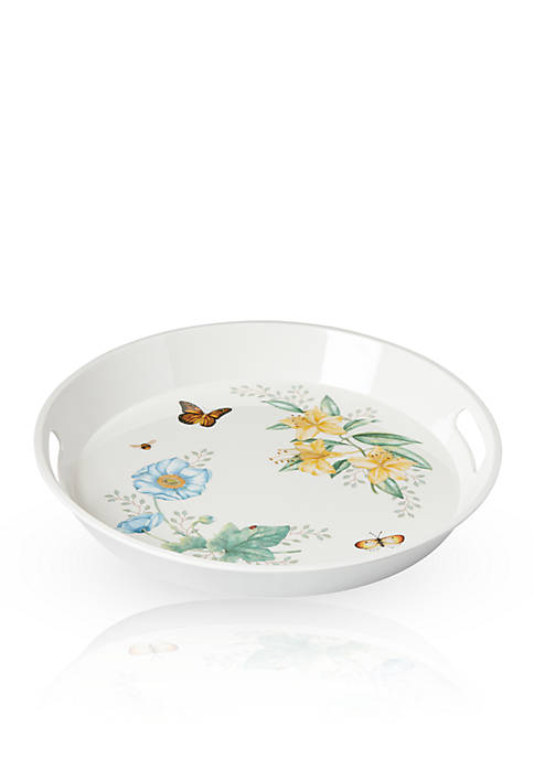 Butterfly Meadow® Melamine Round Tray