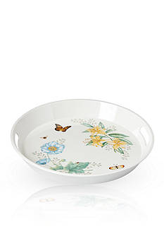 Lenox® Butterfly Meadow Large Round Handled Tray
