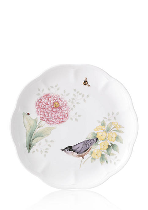 Butterfly Meadow Flutter - Goldfinch Accent Plate