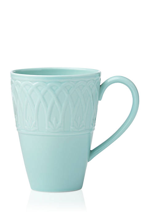 Lenox® British Colonial Carved Aqua Mug