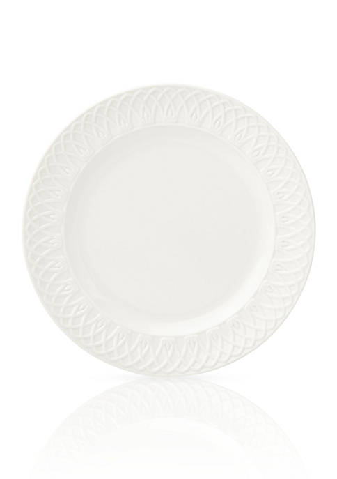 Lenox® British Colonial Curved White Dinner Plate