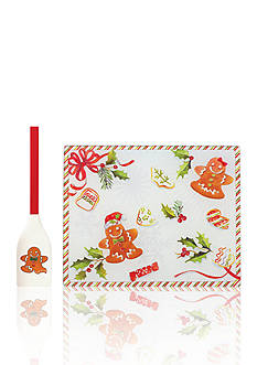 Lenox® Home for the Holidays Glass Prep Board with Spatula
