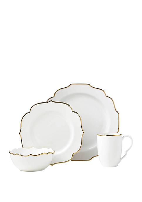 Lenox® Contempo Luxe 4 Piece Dinnerware Set