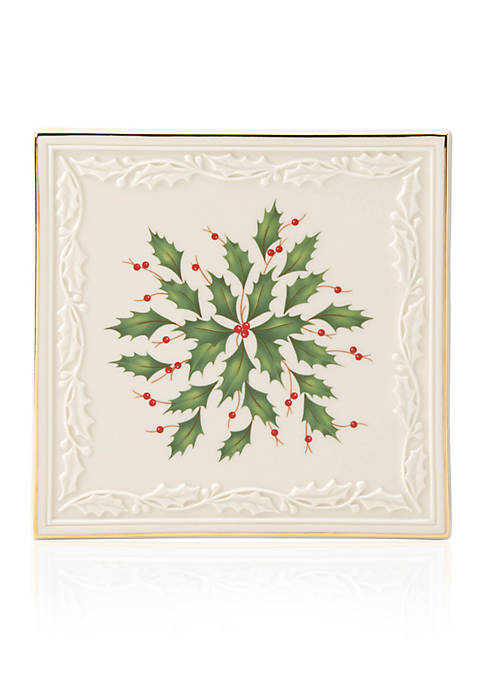 Lenox® Holiday Carved Trivet
