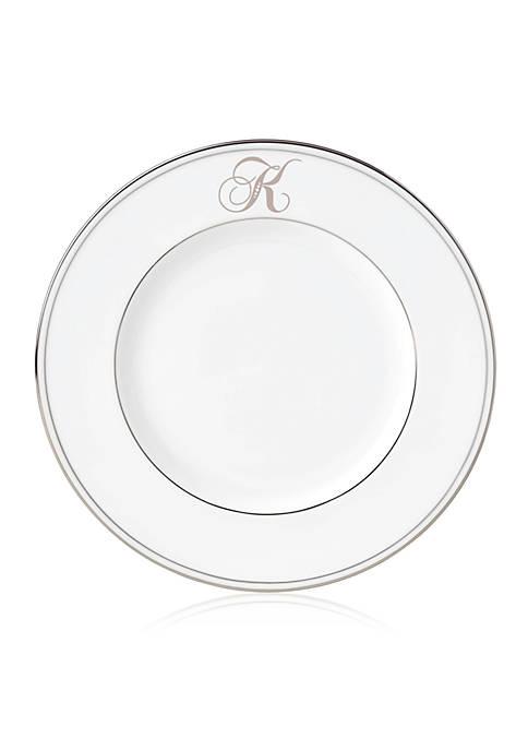 Lenox® Federal Platinum Script Monogram Accent Plate