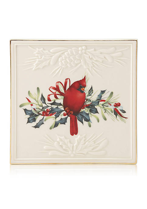 Lenox® Winter Greetings Carved Trivet