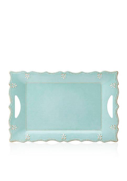 Lenox® French Perle Aqua Melamine Platter