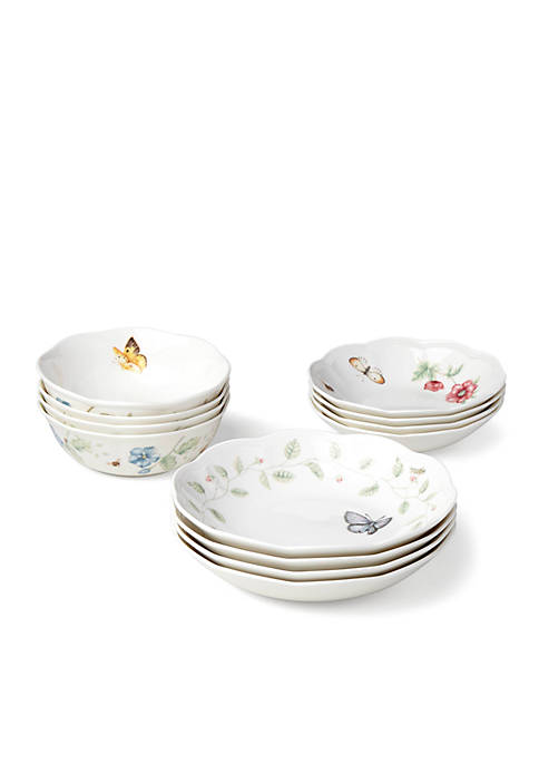 Lenox® Butterfly Meadow 12-pc. Bowl Set