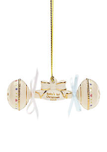 2018 Baby's 1st Christmas Rattle Ornament