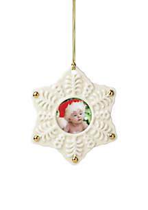 Snowflake Frame Ornament