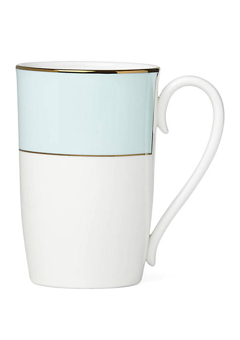 Lenox® Pleated Aqua Mug
