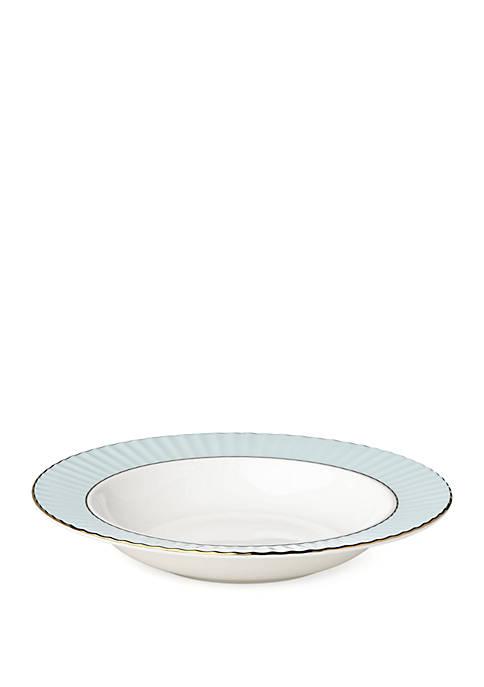 Lenox® Pleated Aqua Pasta/ Soup Bowl