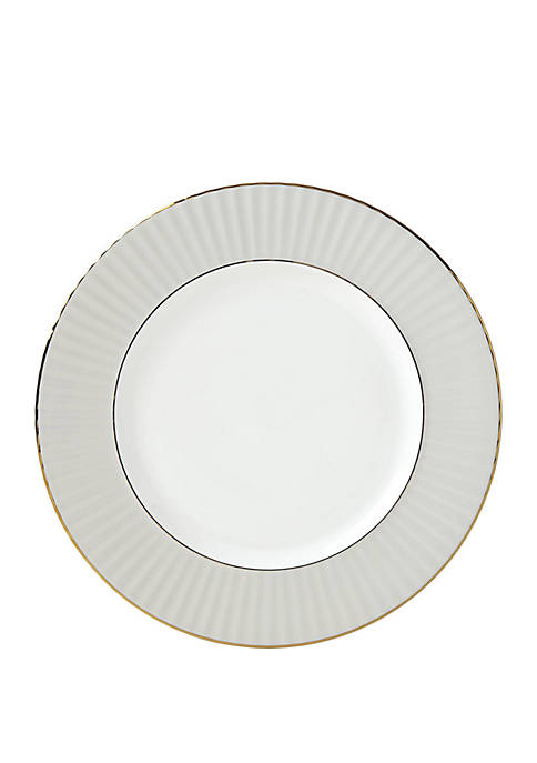 Lenox® Pleated Colors Gray Dinner Plate