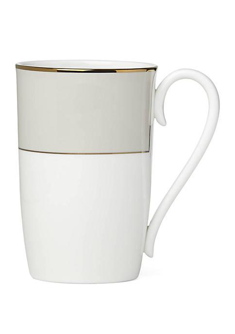 Lenox® Pleated Colors Gray Mug