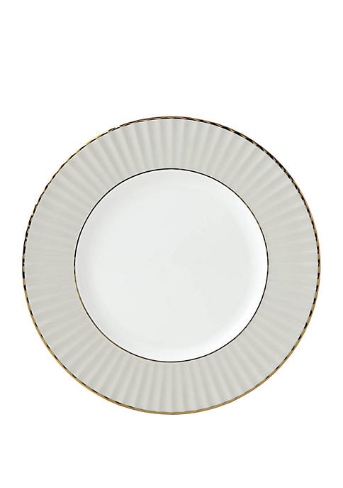 Pleated Color Gray Salad Plate