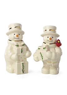 Happy Holly Days™ Snowman Salt & Pepper Set