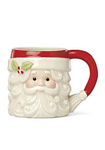 Santa Figural Mug