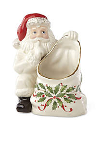 Holiday Santa Candy Dish