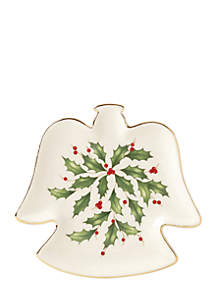 Holiday Angel Party Plate