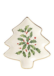 Holiday Tree Party Plate
