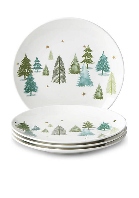 Lenox® Balsam Lane Accent Plate, Set of 4