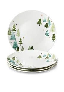Balsam Lane Dinner Plate, Set of 4
