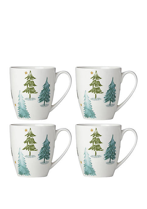 Lenox® Balsam Lane Coffee Mug Set of 4
