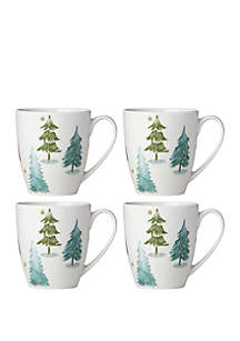 Balsam Lane Coffee Mug Set of 4