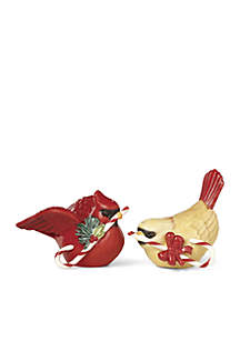 Winter Greetings Salt & Pepper Set