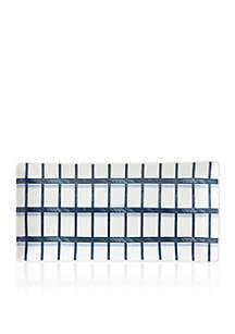 Lenox® Luca Andrisani Blue Azzurro Hors D'oeuvre Tray