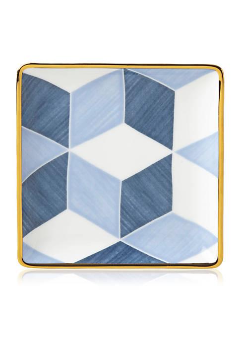 Lenox® Luca Andrisani Color Block Tidbit Plate