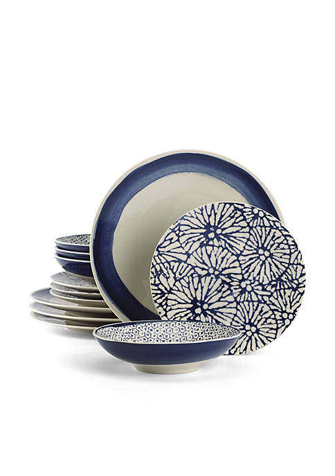 Lenox® Market Place Indigo 12-Piece Place Setting