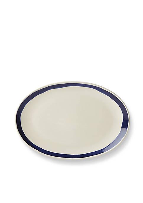 Lenox® Market Place Indigo Oval Platter
