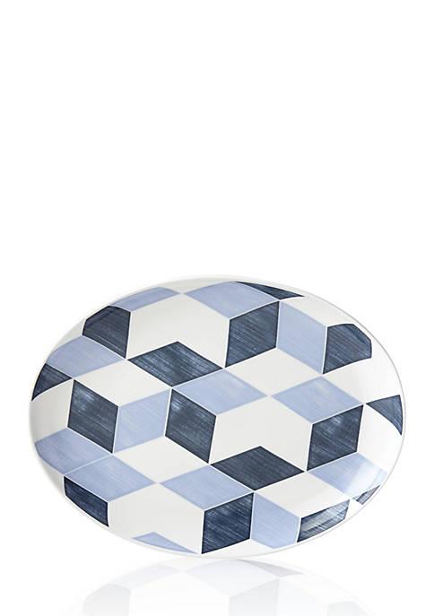 Lenox® Luca Andrisani Blue Azzurro Oval Platter