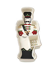 Holiday Toy Soldier Chip and Dip Set