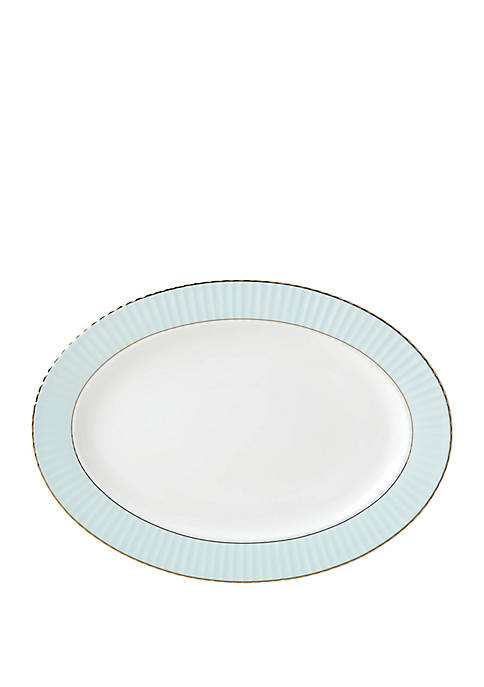 Lenox® Pleated Colors Aqua Platter