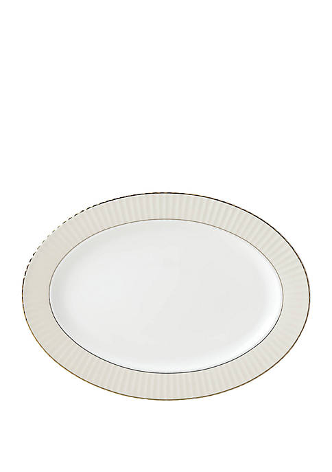 Lenox® Pleated Colors Gray Platter
