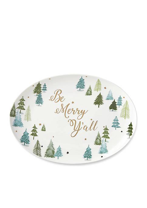 Lenox® Balsam Lane Be Merry Yall Platter