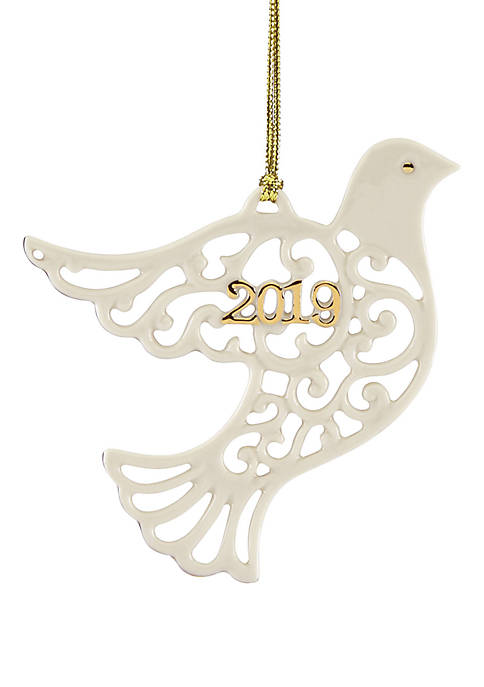 Lenox® 2019 A Year To Remember Dove Ornament