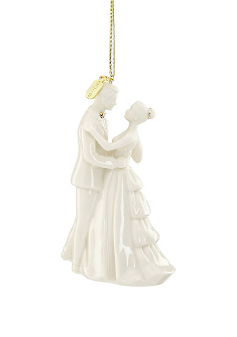 Lenox® 2019 Bride and Groom Ornament