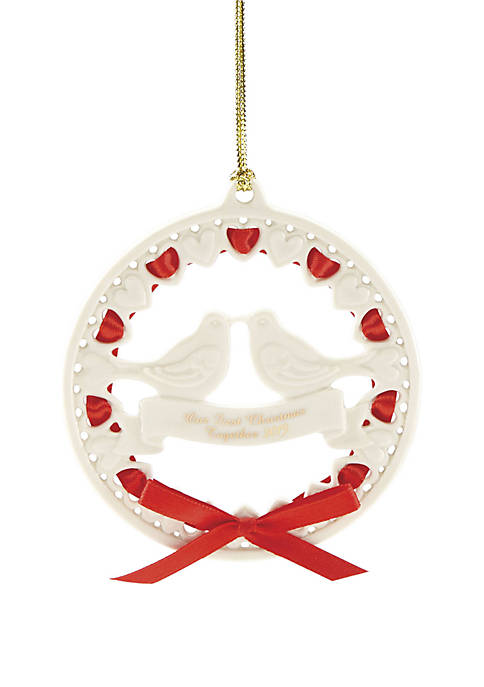 Lenox® 2019 Our 1st Christmas Together Dove Ornament