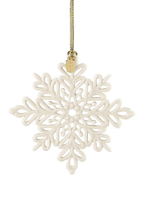 Lenox® 2019 Snow Fantasies Snowflake Ornament