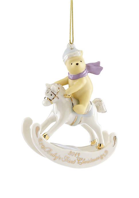 Lenox® 2019 Winnie The Pooh Babys 1st Ornament