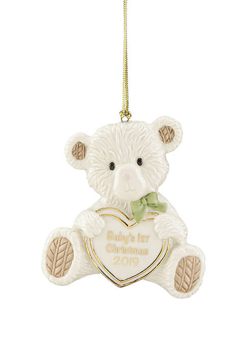 Lenox® 2019 Babys 1st Christmas Teddy Bear Ornament