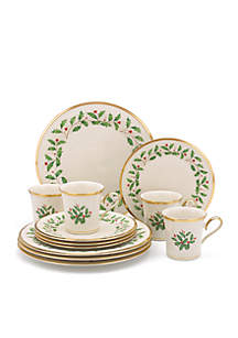 Holiday® 12-piece Dinnerware Set