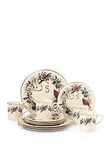 Winter Greetings® 12-piece Dinnerware Set
