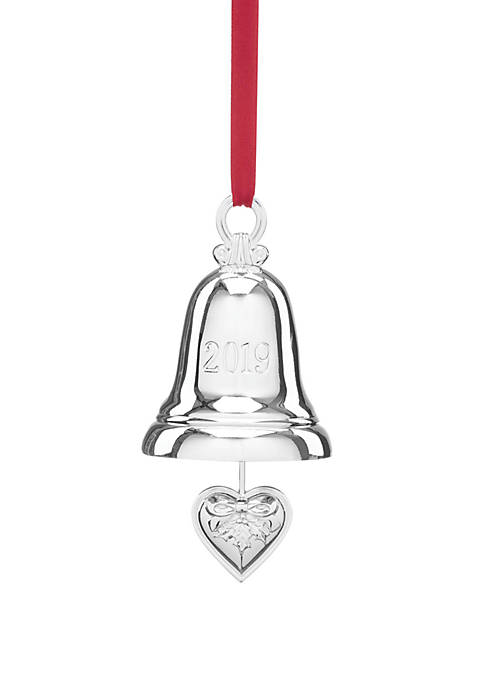 Lenox® 2019 Silver Bell Ornament 6th in the